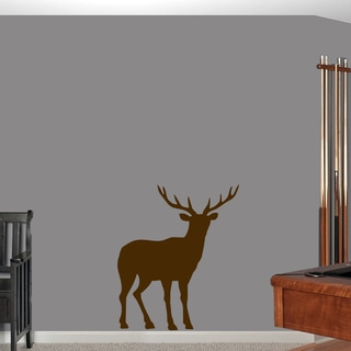 Buck Wall Decal - 30 wide x 36 tall