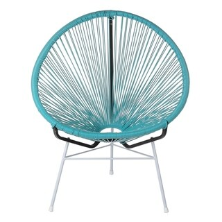 Maya Acapulco Woven Basket Lounge Chair