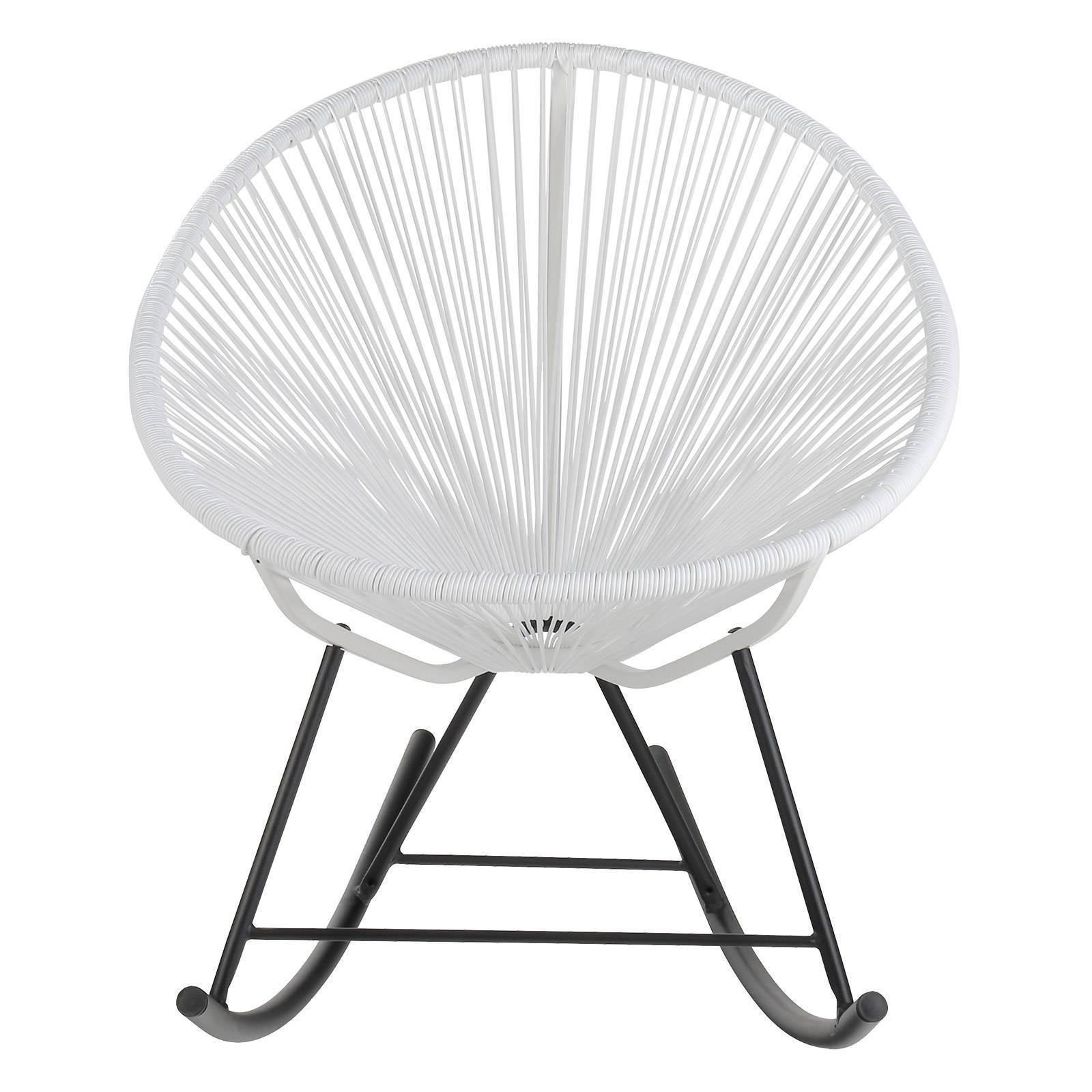Joseph Allen Acapulco Woven Basket Rocking Chair (Acapulc...