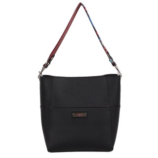 Nikky Hensley Black Hobo Handbag