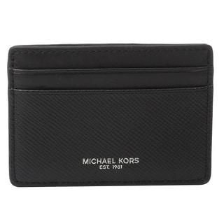 Michael Kors Harrison Black Card Case
