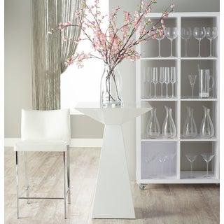 Euro Style Tad White Counter Table