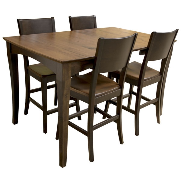 Awesome Shop Amerihome Amish Made Counter Height Dining Table Free Complete Home Design Collection Epsylindsey Bellcom