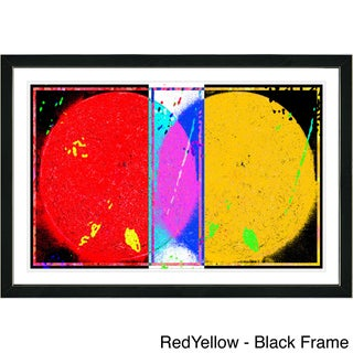 Studio Works Modern Framed Fine Art Contemporary Abstract Painting Towards Eclipse Wall Art Giclee Print by Zhee Singer (More options available)