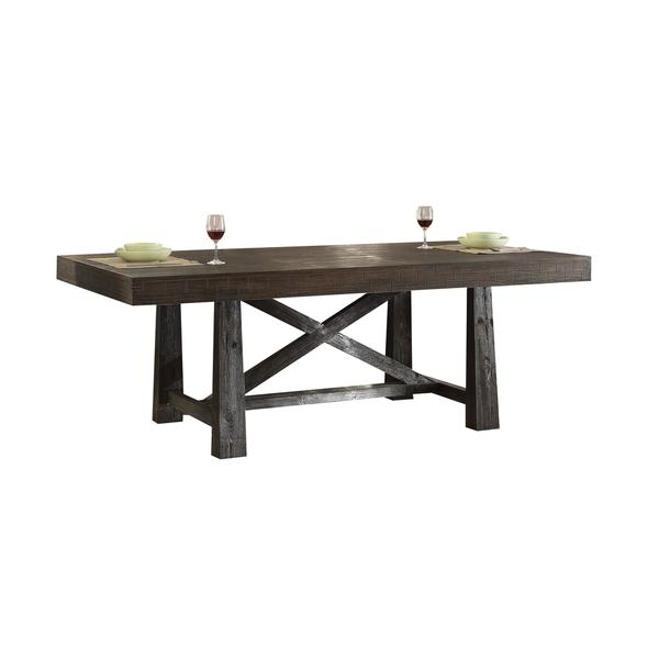 Acme Furniture Eliana Salvage Brown Wood/Veneer/MDF Dining Table