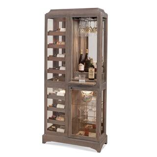 Philip Reinisch Latitude Rustic Oak Beverage Cabinet