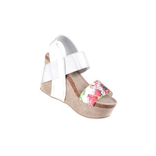 Xehar Women's Casual Floral Wedge Heel Sandal