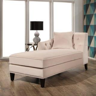 Baxton Studio Aphrodite Tufted Putty Gray Linen Modern