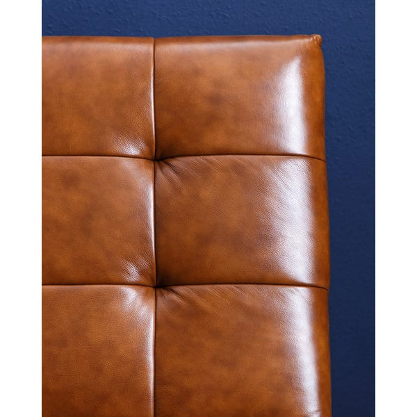 Magnificent Shop Abbyson Tribeca Cognac Chair And Ottoman Set Free Pdpeps Interior Chair Design Pdpepsorg