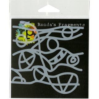 """Crafter's Workshop Fragments Templates 4""""X4"""""""