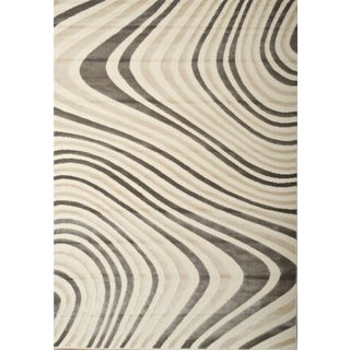 Greyson Living Muse Charcoal/Ivory Area Rug (7'9 x 10'6)