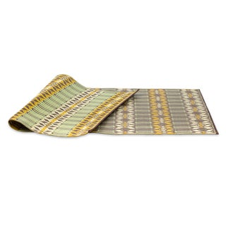 eLuxurySupply Arts and Crafts Moroccan Reversible Indoor/Outdoor Mat (5' x 8')