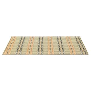 eLuxurySupply Moroccan Brick Reversible Indoor/Outdoor Mat (4' x 6')