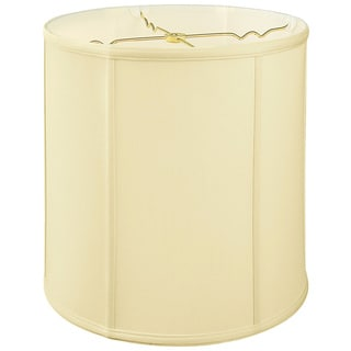 Royal Designs Regal Series Off-white Fabric 15-inch Basic Drum Lampshade