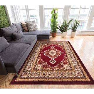 Well Woven My Home Soft Value Traditional Medallion Formal AreaRug (7'10 x 9'10)