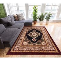 Well Woven My Home Soft Value Traditional Medallion Formal Area Rug - 5' x 7'