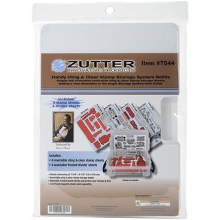 Zutter Cling & Clear Stamp Storage System Refills
