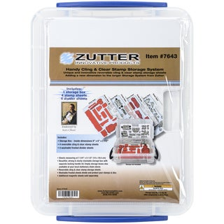 Zutter Handy Cling & Clear Stamp Storage System