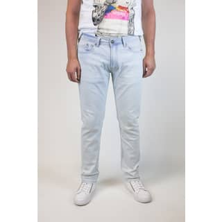 Xray Men's Brady Blue Cotton and Denim Bleach-washed Jeans|https://ak1.ostkcdn.com/images/products/15075118/P21565413.jpg?impolicy=medium
