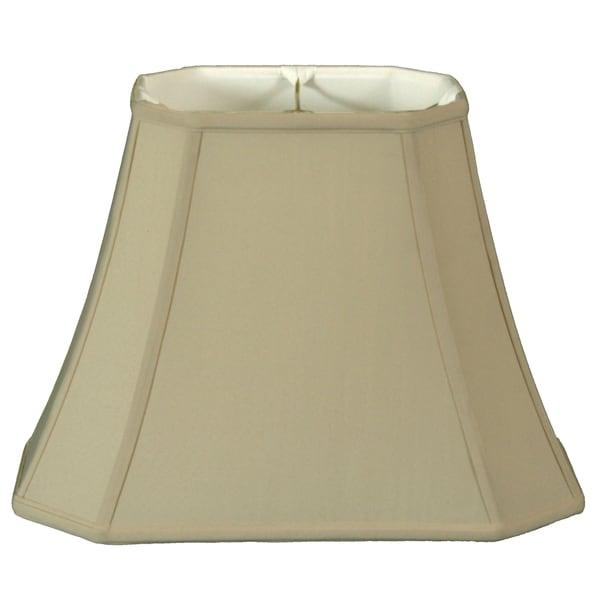 Royal Designs Regal Series 12-inch Rectangle Cut Corner Lamp Shade