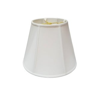 Royal Designs Regal Series White 18-inch Deep Empire Lampshade