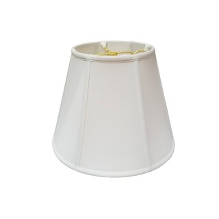 Regal Series Modified Bell White 16-inch Lampshade