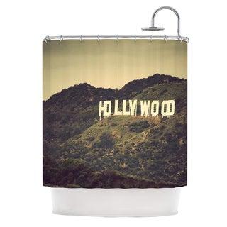 KESS InHouse Catherine McDonald Hollywood Shower Curtain (69x70)