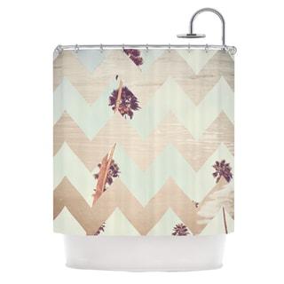 KESS InHouse Catherine McDonald Oasis Shower Curtain (69x70)