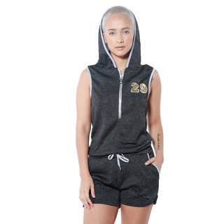 Special One Women's Hooded Casual Romper