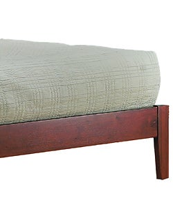 Contemporary Shaker California King-size Platform Bed - Thumbnail 2
