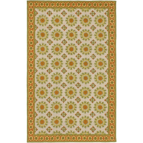 ecarpetgallery Hand-Hooked Samarkand Wool Rug