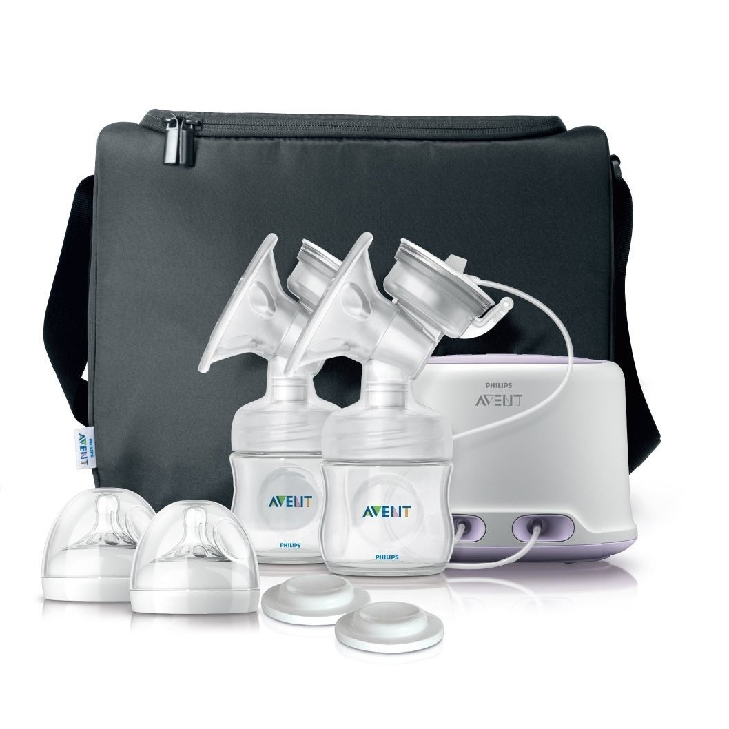 Philips Avent Double Electric Breast Pump (White)