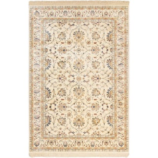 Link to ecarpetgallery Tribo Ivory Viscose Rug Similar Items in Casual Rugs