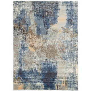ecarpetgallery Birtin Blue Rug - 5'3 x 7'3