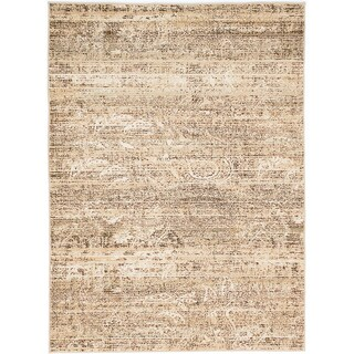 ECARPETGALLERY Birtin Beige, Ivory Rug (5'3 x 7'3)