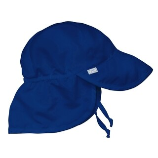 iPlay Infants' Royal Blue Solid Flap Sun Protection Hat