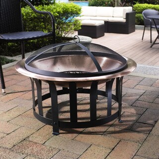 Crosley Furniture Ridgeway Copper Bowl Firepit