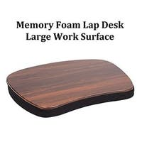 Sofia + Sam Oversized Black Memory Foam Lap Desk