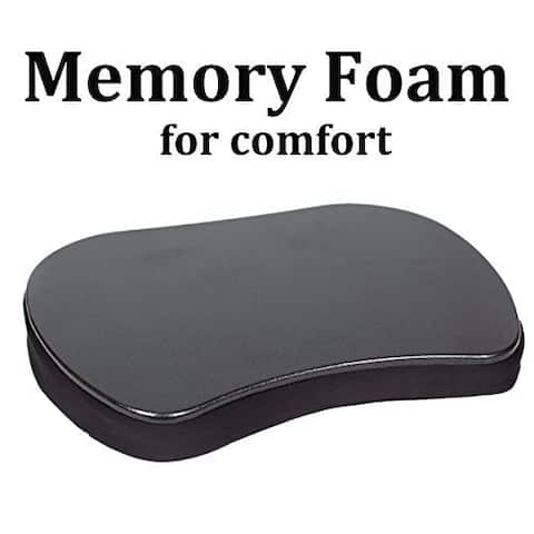 Sofia + Sam Black Memory Foam Mini Lap Desk