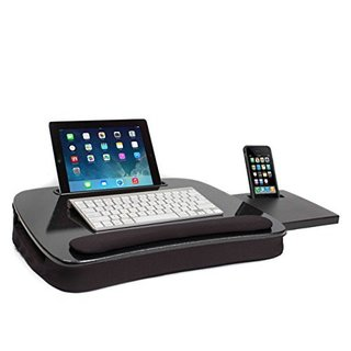 Sofia + Sam Black Memory Foam Multitasking Lap Desk