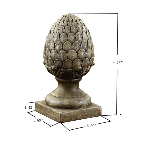 Pineapple Post Finials Home and Garden Table Decor