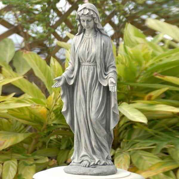 Virgin Mary Outdoor Garden Statue Free Shipping Today