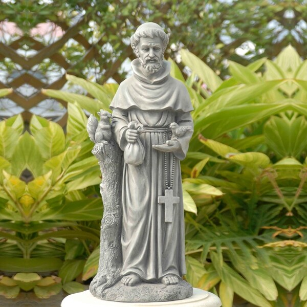 Shop Saint Francis Garden Statue On Sale Ships To Canada