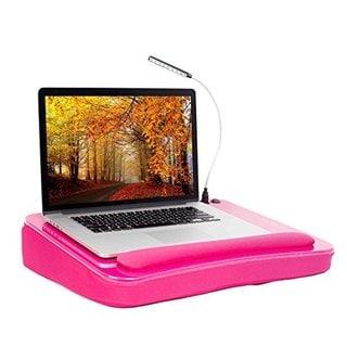 Sofia + Sam Lap Desk with USB Light (Pink)