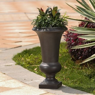 Stone Finish Urn Planter
