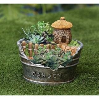 Acorn House Planter Miniature Fairy Garden
