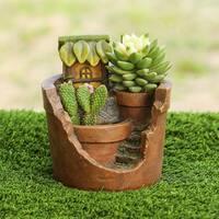 Treehouse Planter Miniature Fairy Garden