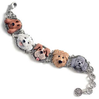 Sweet Romance Dog Lovers Bracelet|https://ak1.ostkcdn.com/images/products/15076972/P21567028.jpg?impolicy=medium