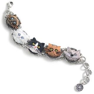 Sweet Romance Cat Lovers Bracelet