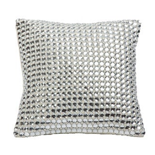Mirror Linen Down-filled Throw Pillow